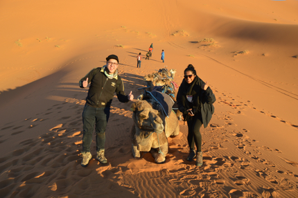 Morocco Explored Camel Trek Camp