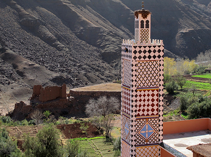 Morocco Mosque Tower